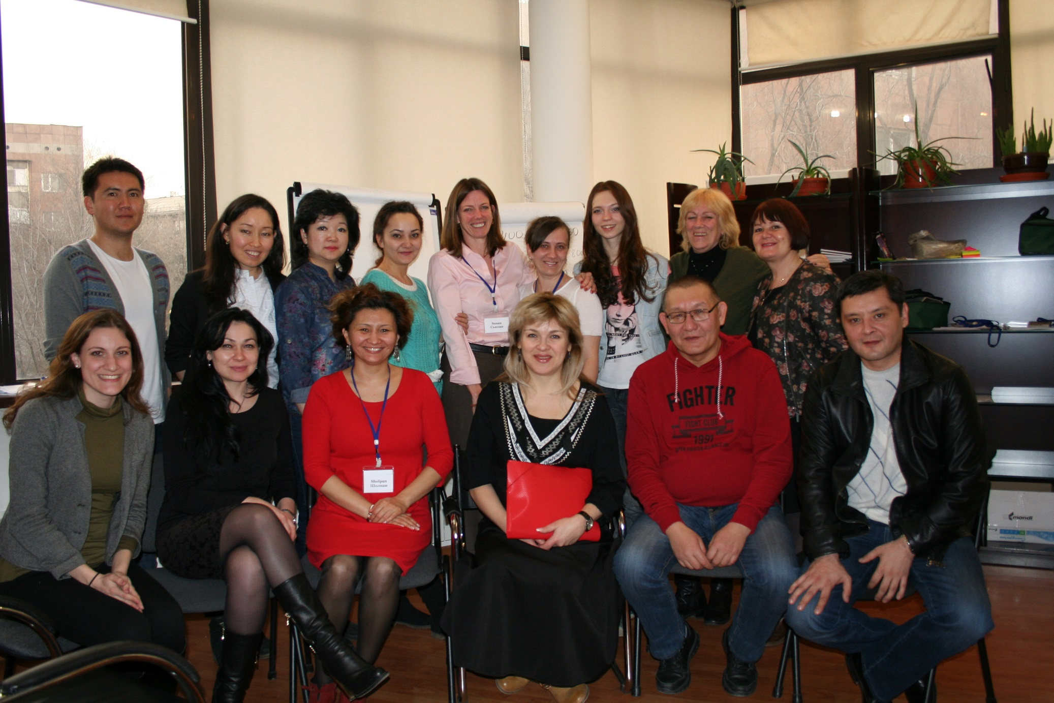 Training of NOVA facilitators in Almaty, February 2015